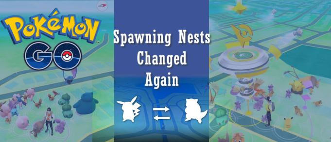 Pokemon GO Spawning Nests Changed Again