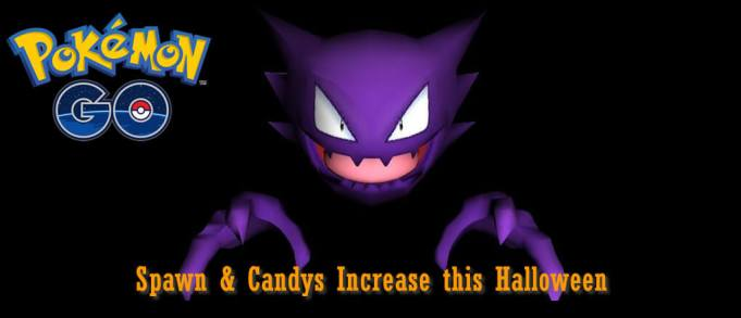 Spawn and Candys Increase this Halloween