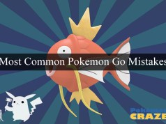Most Common Pokemon Go Mistakes