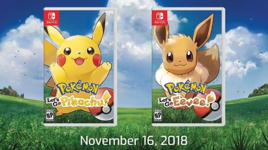 Trailer Pokémon: Let's Go Pikachu e Let's Go Eevee