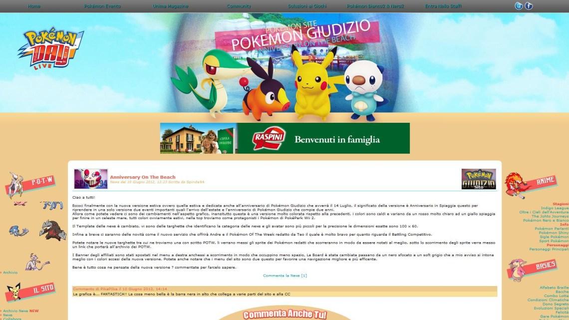 1 Anno di Pokémon 4Ever