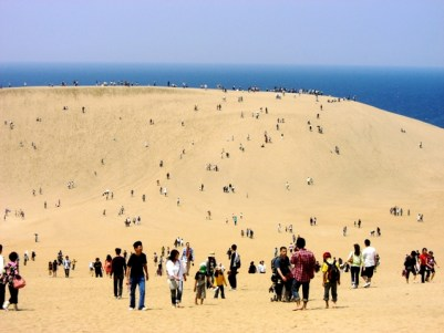 大賑わいの鳥取砂丘(2009.5.2)