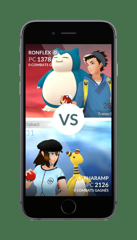 Pokémon GO Gym Battle Intro