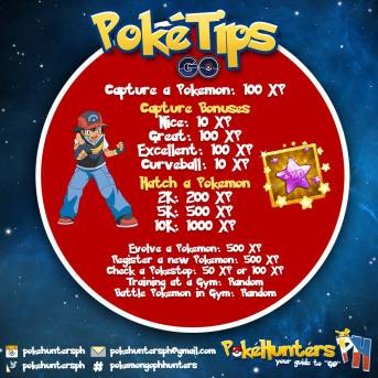 PokeTip - How To Get More XP