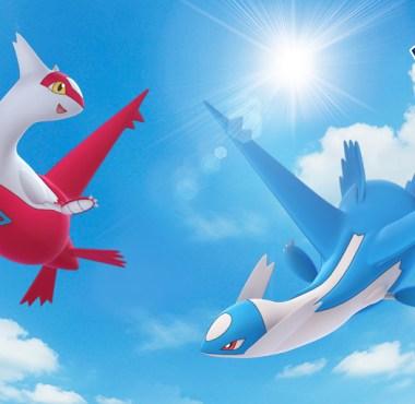 Latios e Latias - Pokémon GO