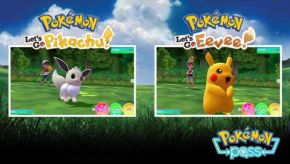 Shiny Pikachu e Shiny Eevee
