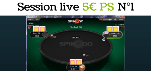 Session live - 5€ PS N°1