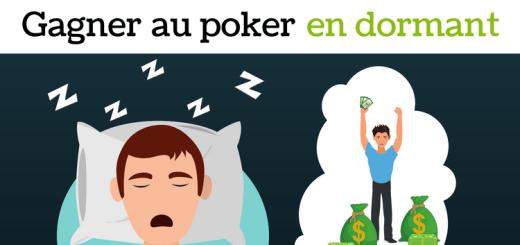 Je gagne au poker en dormant - sng jackpot