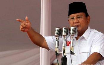 Prabowo menyatakan harga Beras dan Daging Indonesia, Tertinggi di Dunia.