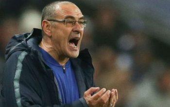 Sarri akan merotasi pemainnya sebelum laga kontra Fulham