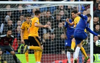 Gol Telat Hazard Hindarkan Chelsea Dari Kekalahan