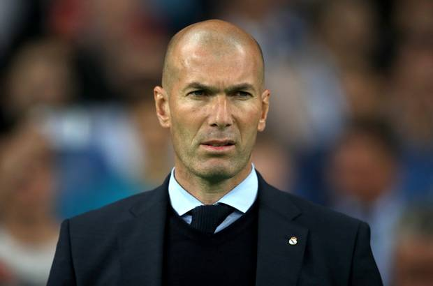 Zidane tersiksa latih Real Madrid