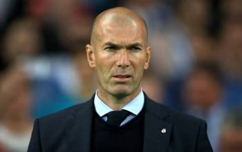 Zidane tersiksa latih Real Madrid