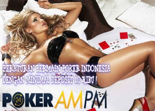 peraturan-permainan-poker-indonesia-online