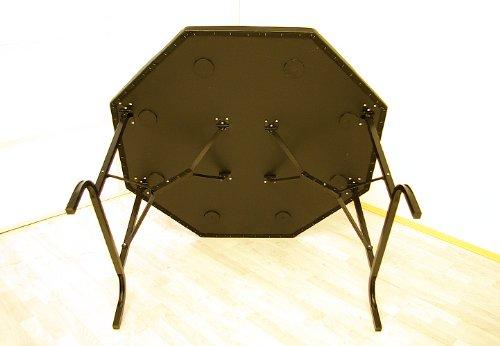 8-eckiger Pokertisch von Nexos Trading Beine untenansicht