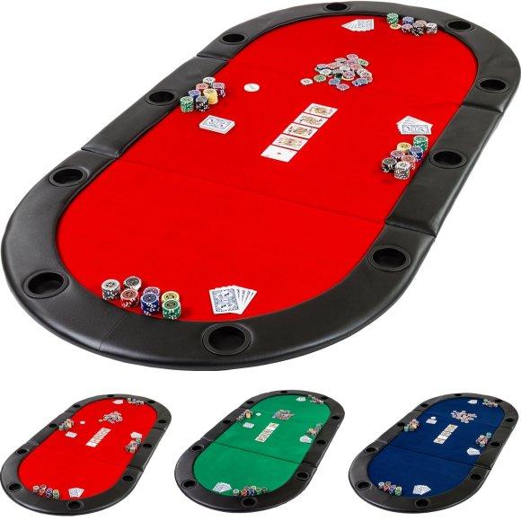 Deluxe faltbare Pokerauflage