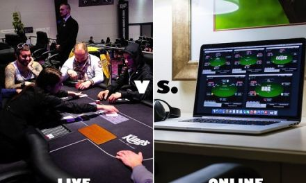 Online Poker vs Live Poker: what's the differences? (Part 1)