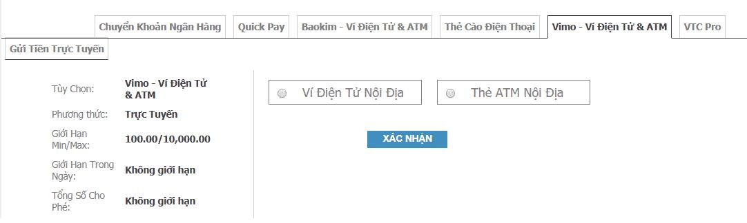 huong dan cach gui tien w88 choi poker online 7 Bắn cá săn thưởng gửi tiền như thế nào?