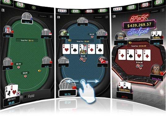 Chơi Poker online nhiều bàn trên điện thoại di động giúp kiếm tiền nhanh hơn