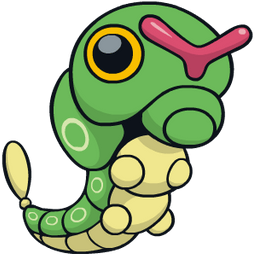 Caterpie type, strengths, weaknesses, evolutions, moves, and stats -  PokéStop.io
