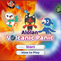 First Pokemon Sun and Moon minigame Alolan Volcanic Panic now playable for free