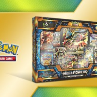 Mega Lucario-EX and Mega Manectric-EX feature in the new Pokémon TCG: Mega Powers Collection