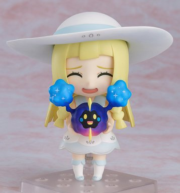 Nendoroid_lillie_holding_nebby_and_laughing_pokemon_figure