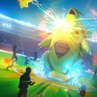 New Pokémon GO loading screen displays action-packed Raid Battle against Tyranitar