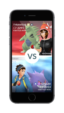 pokemon_go_screenshot_of_gym_battle_tyranitar_vs_gengar