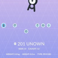 Six different Unown appeared at the Pokémon GO Fest to spell out the word Chicago