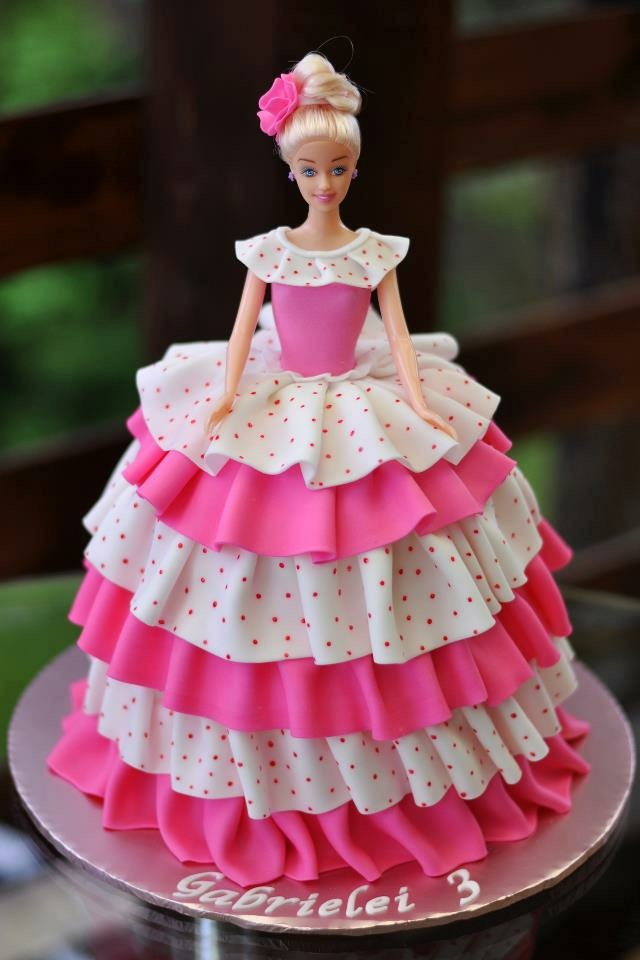 Barbie Doll Birthday Cake 2