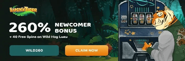 play online slots lucky tiger