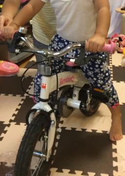 02_へんしんバイク・ペダル装着