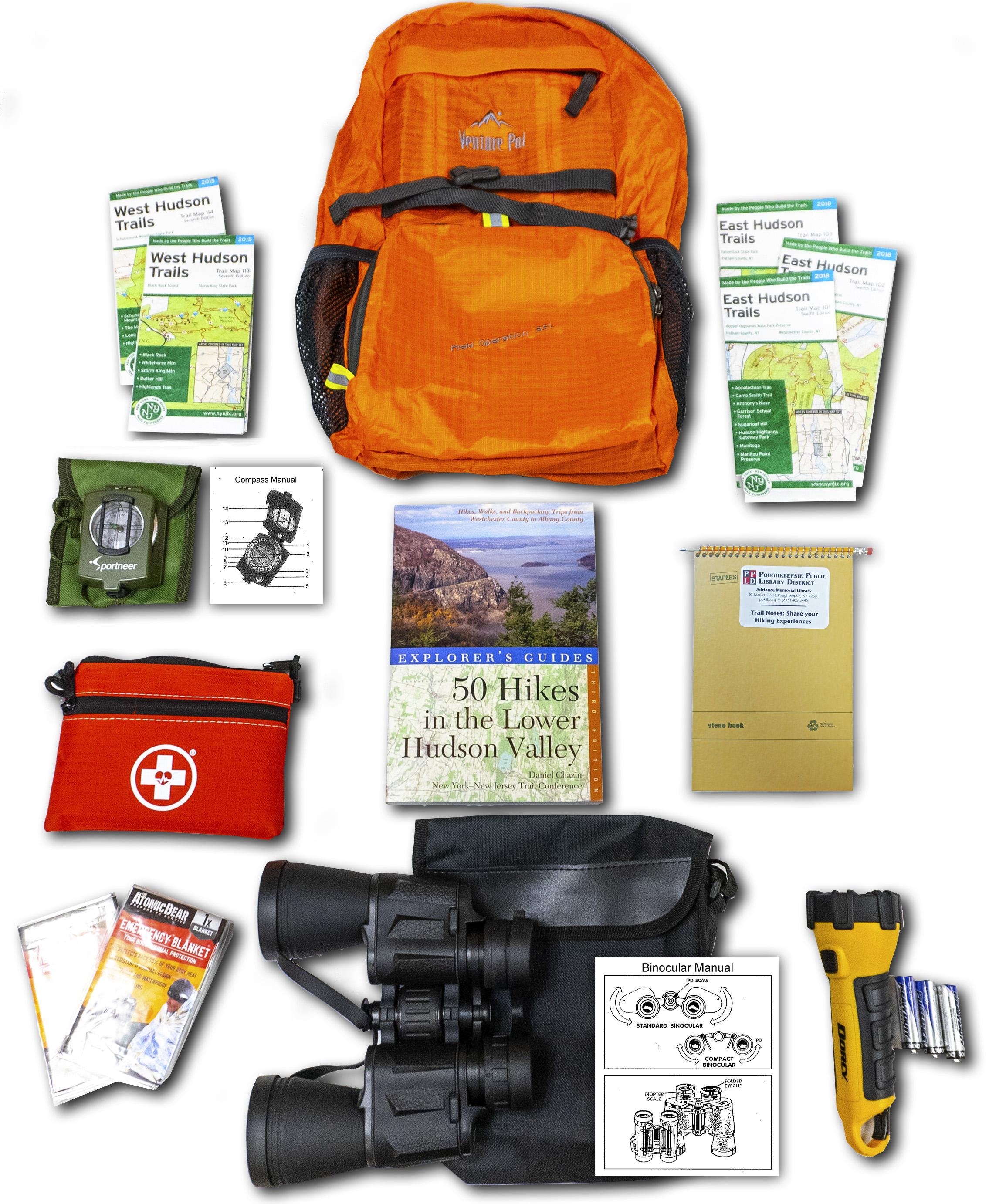 Hiking Backpack at a glance