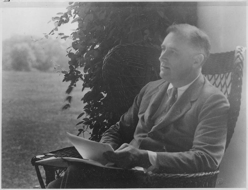 Image of News Article about death of FDR