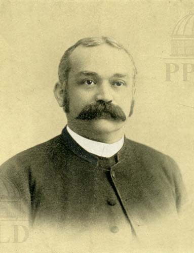 Portrait of Reverend Henry L. Ziegenfuss. - Christ Church Rector