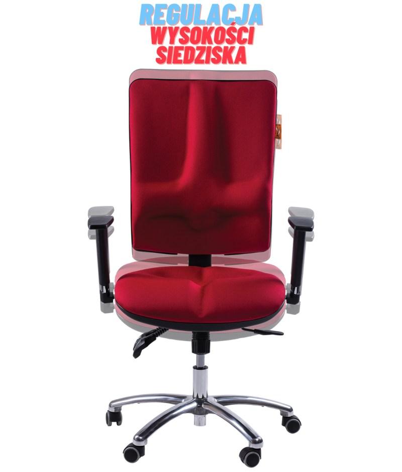 regulacja siedziska, krzesło ergonomiczne Business