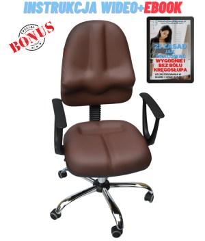 krzesło ortopedyczne classic kulik system