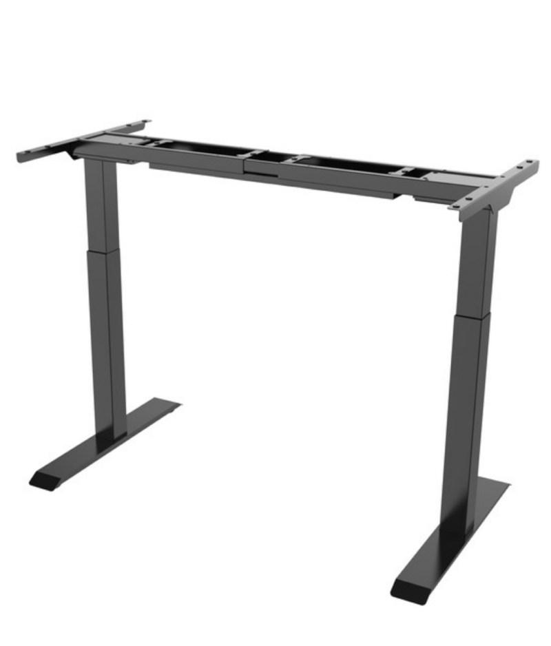 stelaż czarny regulowany elektrycznie ,biurko Comfort Zb-200