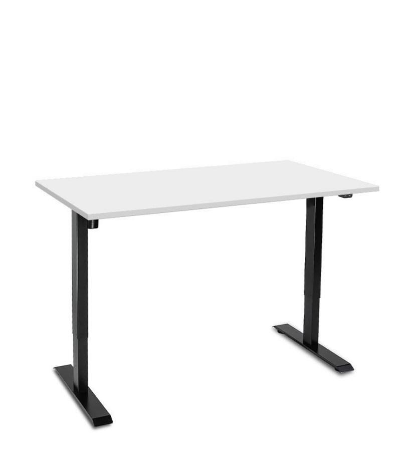 Biurko z elektrycznie regulowanÄ… wysokoÅ›ciÄ… do pracy przed komputerem na stojÄ…co i siedzÄ…co, Basic