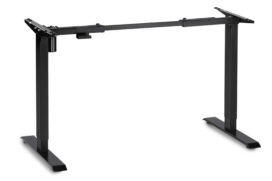 stelaż regulowany elektrycznie ,biurko Basic E100