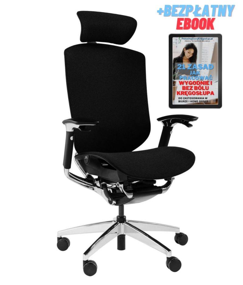 Fotel ergonomiczny Zhuo Challenger dla programisty