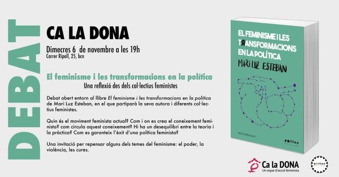 El feminisme i transformacions en la política