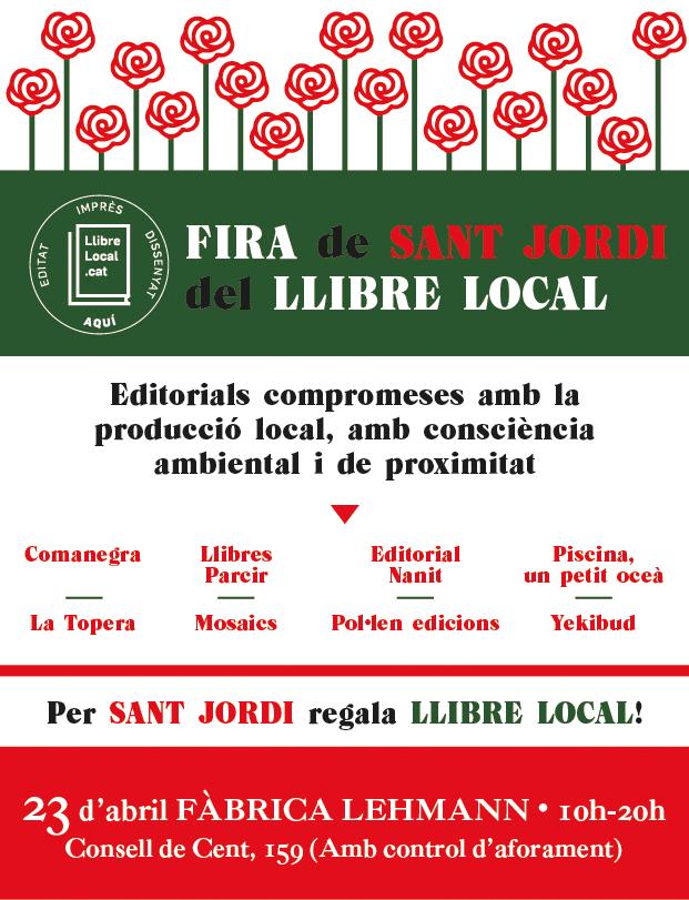 Fira Sant Jordi Llibre Local
