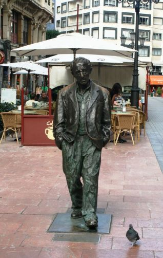 Woody Allen in Oviedo