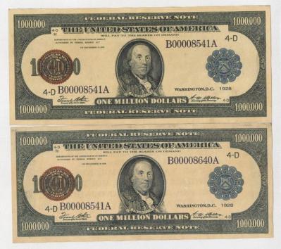 Banknot milion 2
