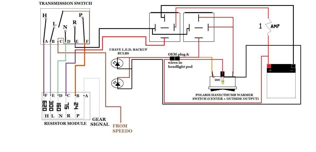 Polaris Ranger 500 Wiring Diagram