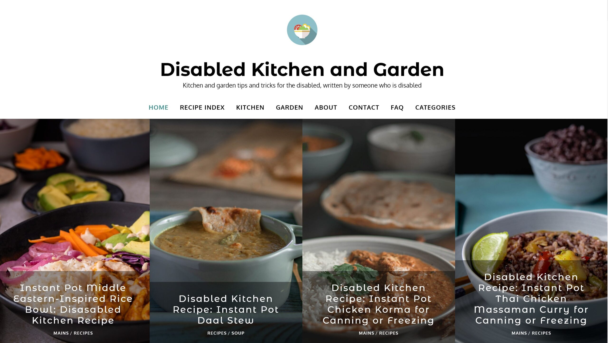 Project; Disabled Kitchen and Garden