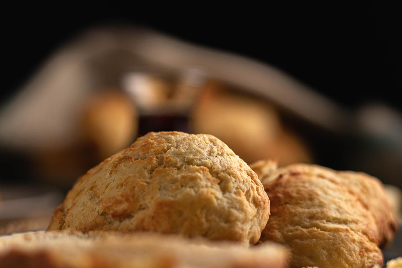 Potato Scones - Polaris Creative Food Photography Services