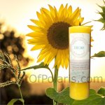 Sunflower Pillar Candle